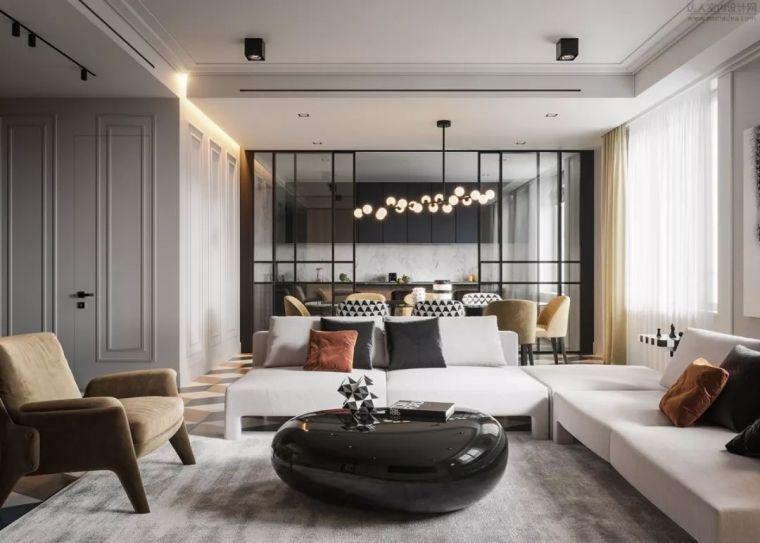 如今流行的客厅该如何设计