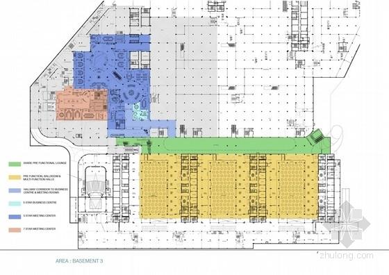 [海南]美丽之冠七星酒店室内设计概念方案