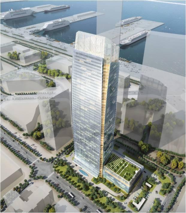 中建八局一超高层项目工地绿色施工案例分享!