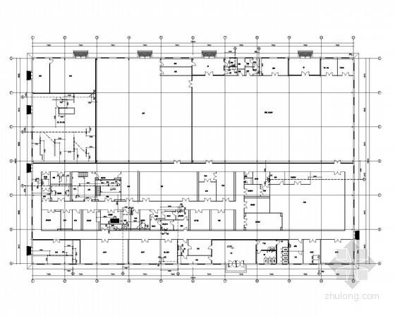 [河北]厂区车间给排水及消防埋地管道施工图