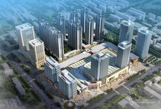 [河北]知名大型现代风格国际商业广场设计方案文本(多个地块)