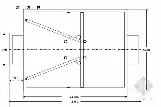 二层升降机安拆方案资料下载-成都某高层写字楼施工升降机安装方案