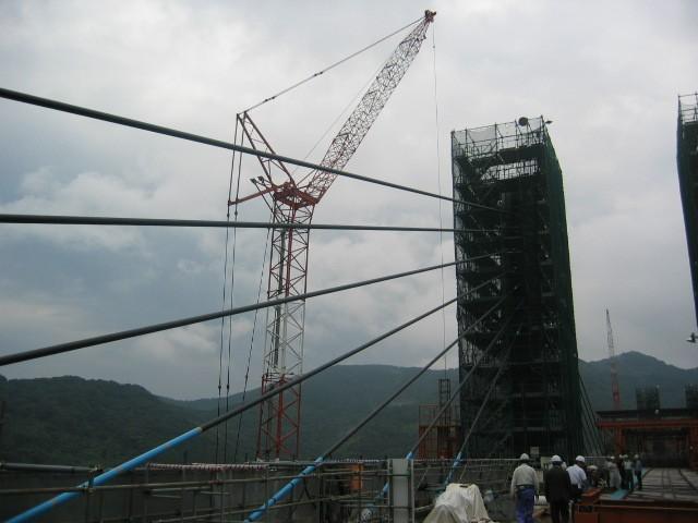 日本桥梁施工现场图片,好干净有木有
