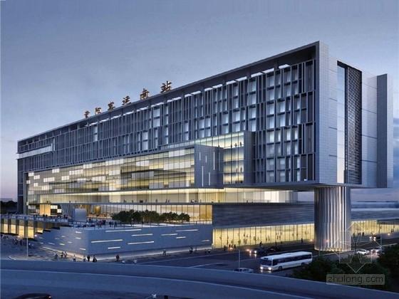 [贵州]现代风格大型客运站项目规划设计(知名国外设计集团)