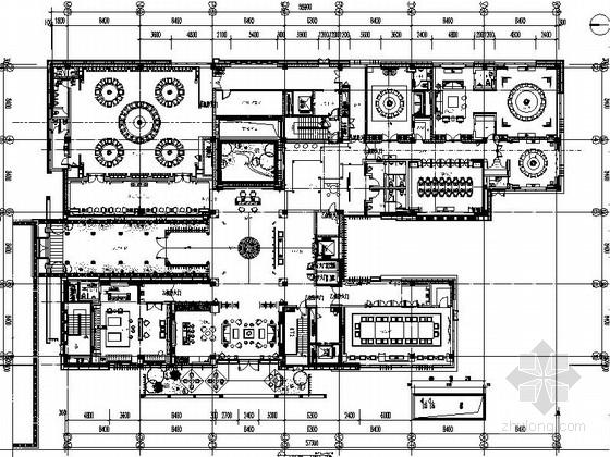 [苏州]中式风情休闲会所设计装修图(含效果)