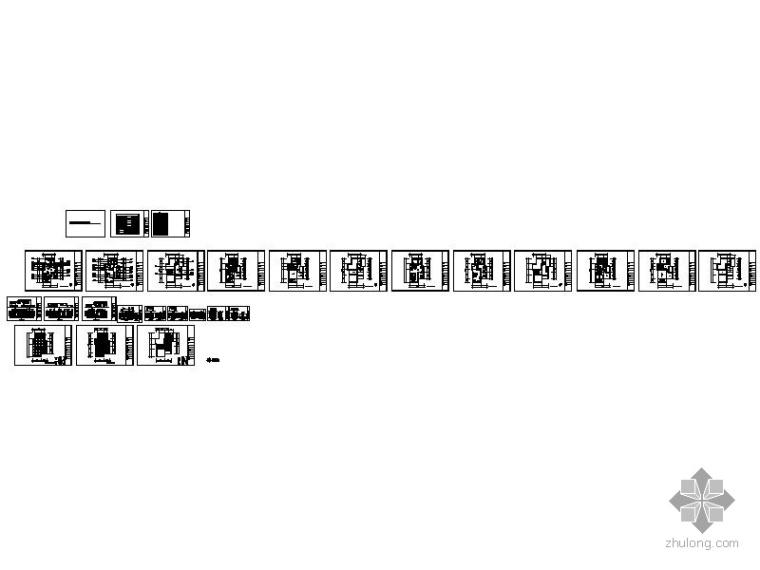 [浙江]某三层联排别墅室内装修图_4