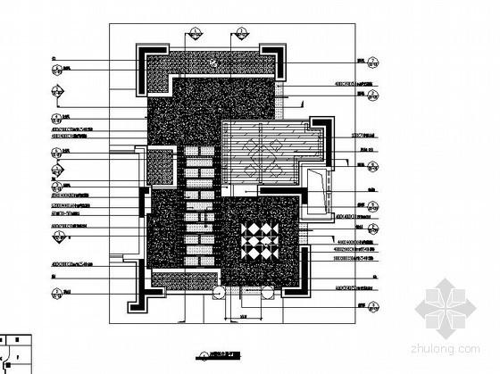 住宅楼架空层景观工程施工图