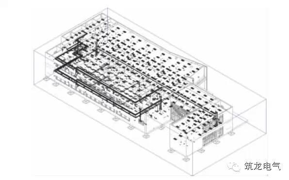 图9 学生食堂三维电气设计模型(全景透视).jpg