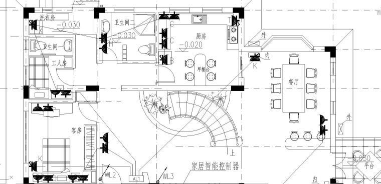 某小区别墅完整电气施工图
