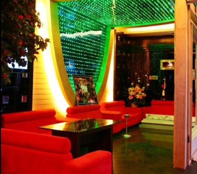 二层时尚餐厅室内装修施工图(含实景图)