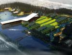 [上海]湿地台地田园景观农业观光园旅游度假村景观规划设计