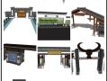 自己收集的一些su门模型,分享给大家!