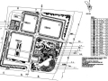 某厂区的景观设计平面施工图