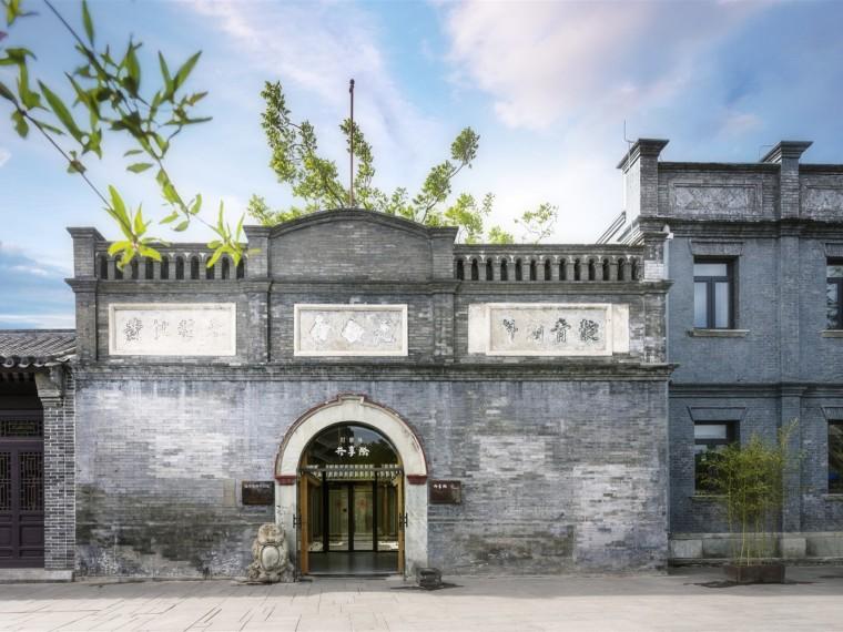 北京打磨厂共享际办公建筑