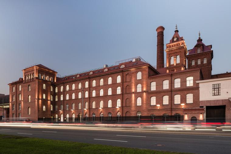 纺织厂办公楼案例(俄罗斯)