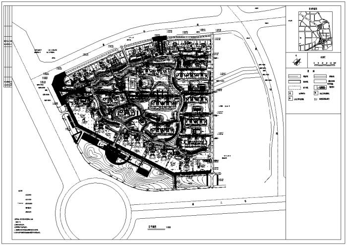 [陕西]国际性太阳能社区景观设计全套施工图