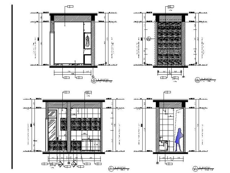 [海口]南加州风格低层度假住宅设计施工图(含效果图+软装概念)_5