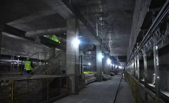 31层楼深!创造全国纪录的地铁站是如何施工的?_6