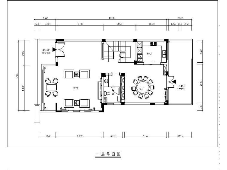 [北京]一套完整的精装别墅设计施工图