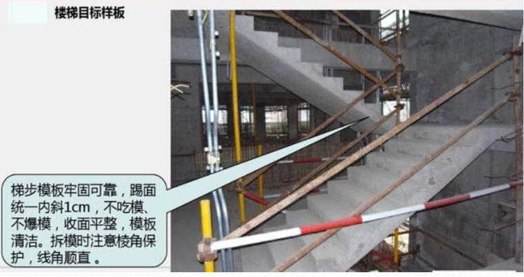 楼梯目标样板