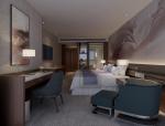 标准客房3D模型下载