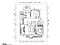 混合风格二层别墅设计施工图(附效果图)