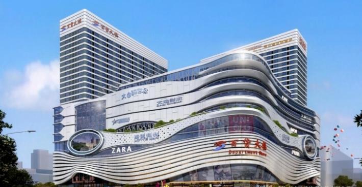 辽宁百货大楼工程bim技术应用展示