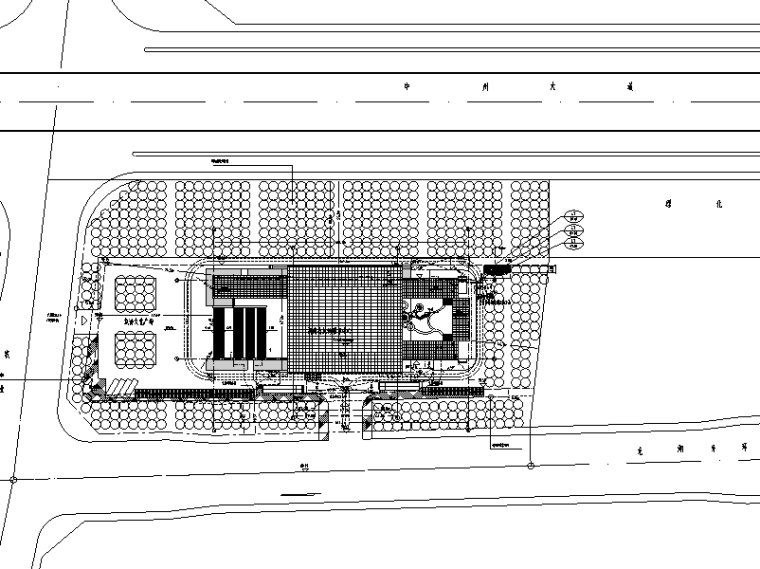河南旅游中心暖通工程施工图(CAD)