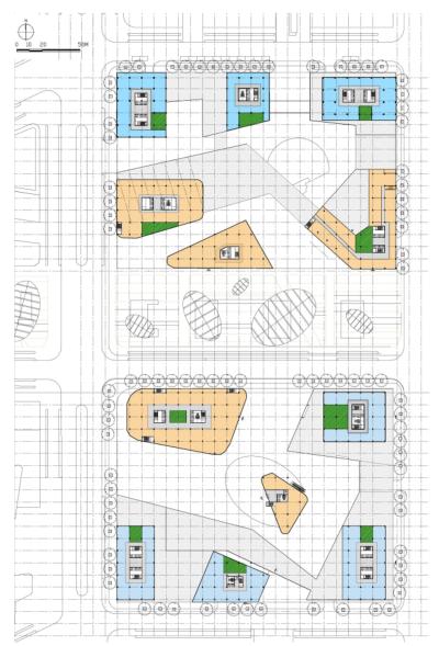 [上海]现代风格低碳城市综合体建筑设计方案文本_10