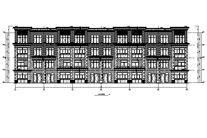 [重庆]全专业高层框架结构住宅、商业及办公施工图(17年)