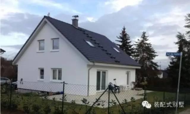 德国预制装配式别墅建造全过程图解(全程记录)—第一部分