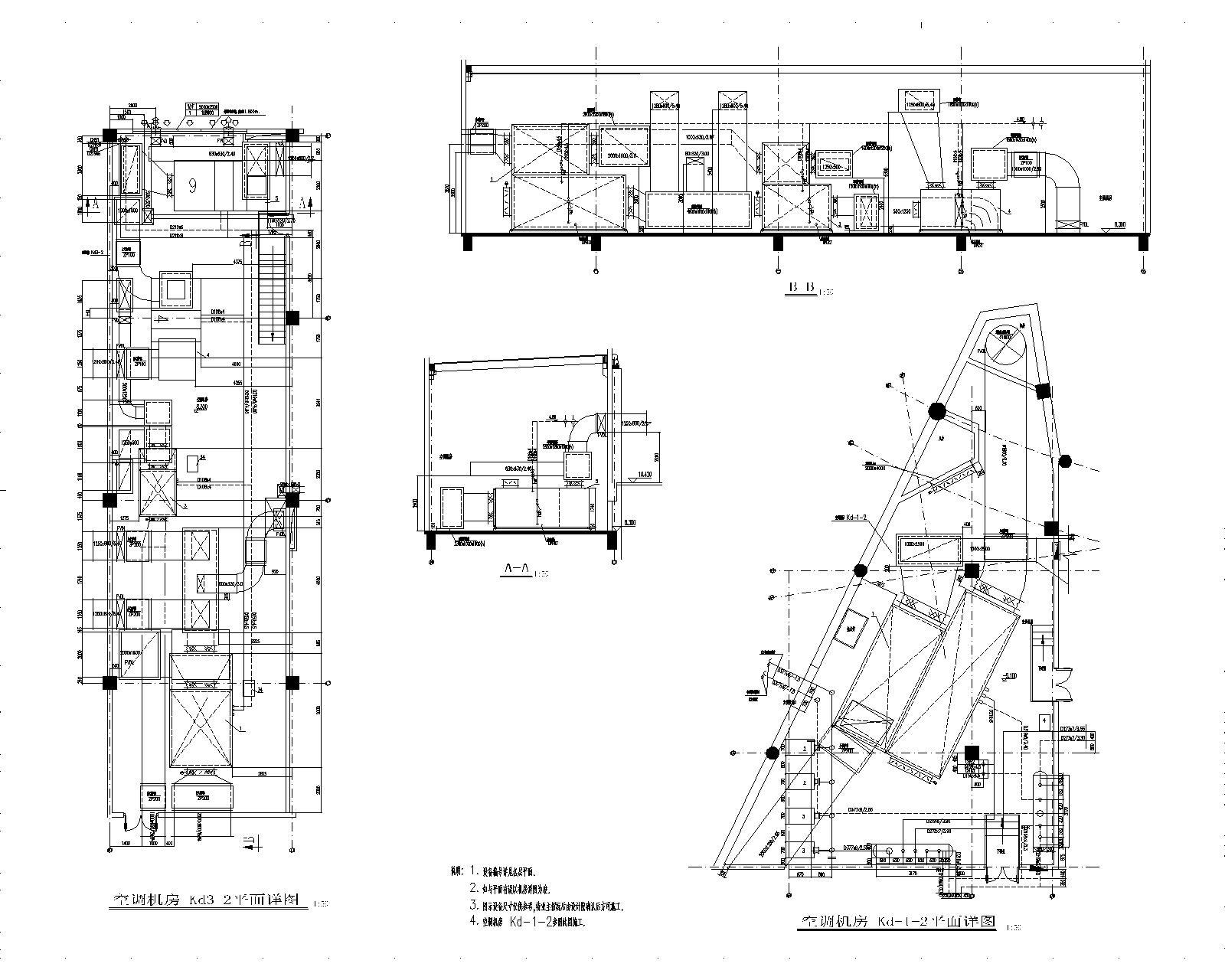 同济-连云港游泳馆暖通设计全套图纸(含冷热源、空调系统、通风系统)_4