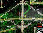 沙特阿拉伯高速公路工程CAD图纸(纯英文版)