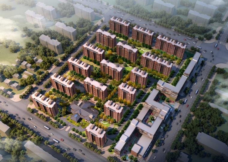 [上海]乐都路商品住宅小区规划设计方案文本