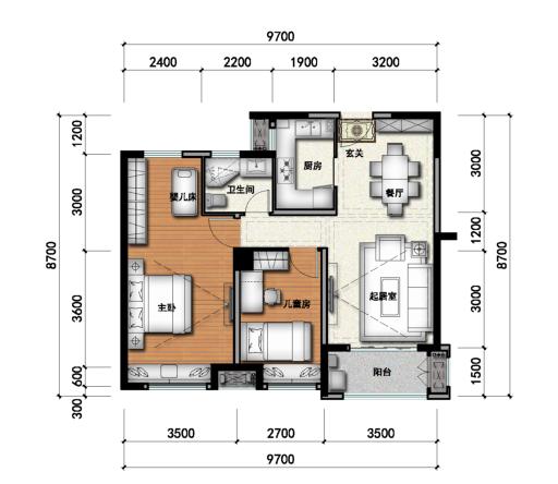 [河南]高层塔式住宅办公建筑设计方案文本(含教育配套)_12