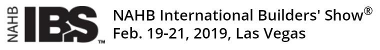 【2019.2.19-21】2019年美国拉斯维加斯建筑建材展IBS