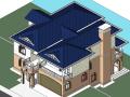 BIM模型-revit模型-两层小别墅模型