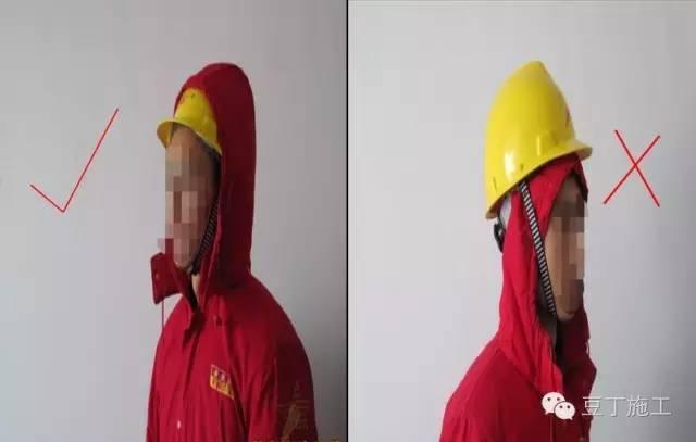 施工安全,從頭做起,正確佩戴安全帽的方法_7