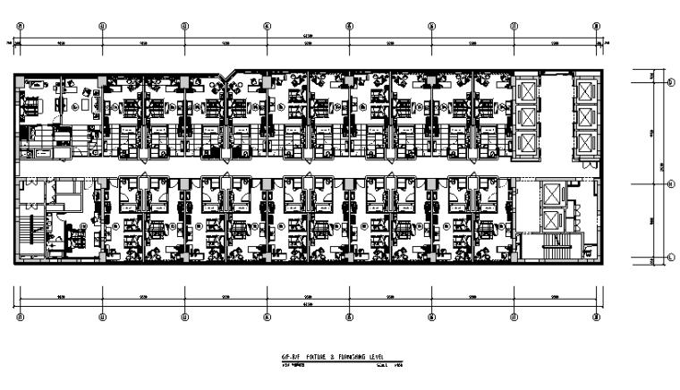 36000平米商务酒店设计施工图(附效果图+材料表)_4