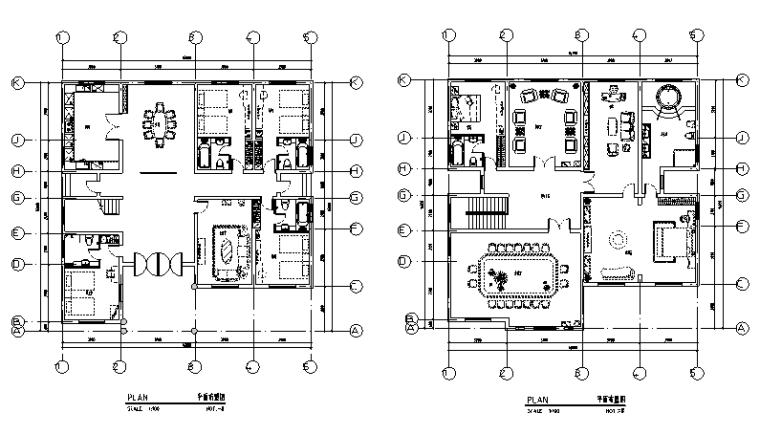 [上海]现代酒店设计施工图(附效果图)