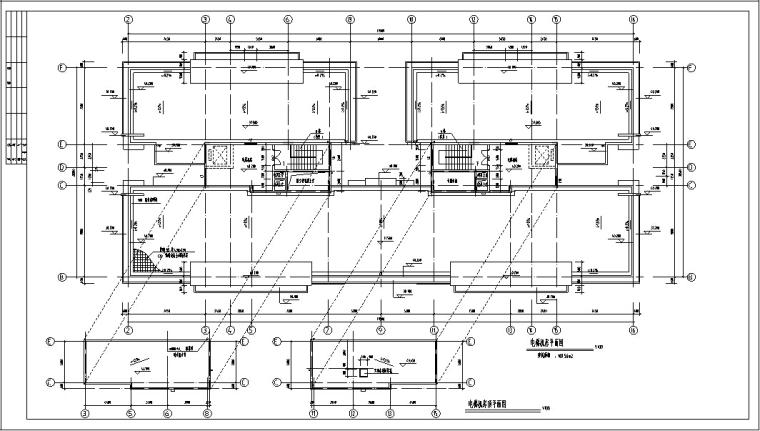 现代高层商住楼建筑设计方案初设图CAD-5