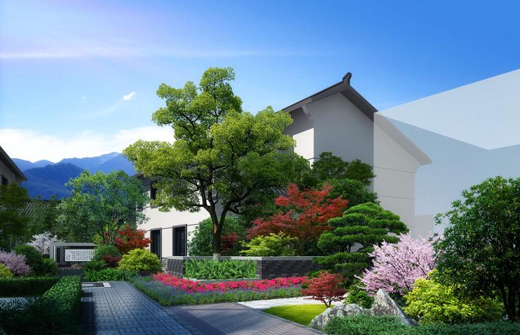 新中式与川西风相结合:隆昌新农村_9