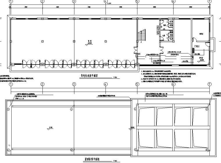 办公楼电气系统施工图纸
