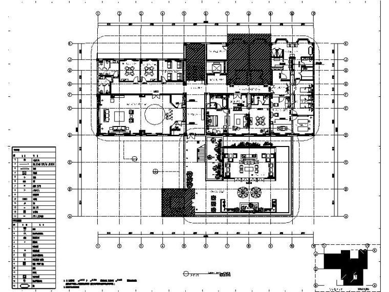 [苏州]某知名集团旗下时尚休闲会所室内设计施工图