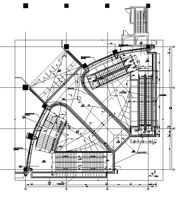 [浙江]地下一层停车场建筑施工图(出图图纸)_5