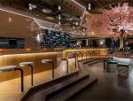 未来主义的诠释的日本餐厅(设计欣赏)