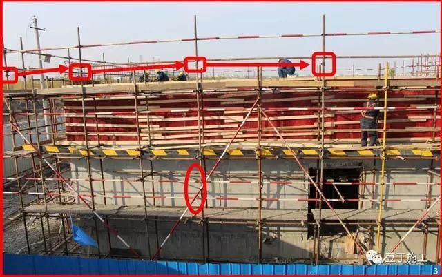 建筑施工人员得掌握丨这样搭设脚手架,都是有问题的!