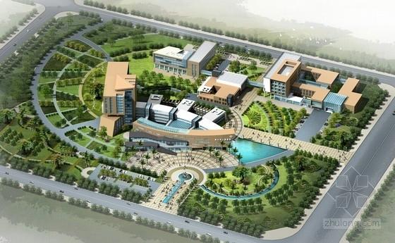 [合集]3套大型多功能市级综合性医院建筑设计方案文本