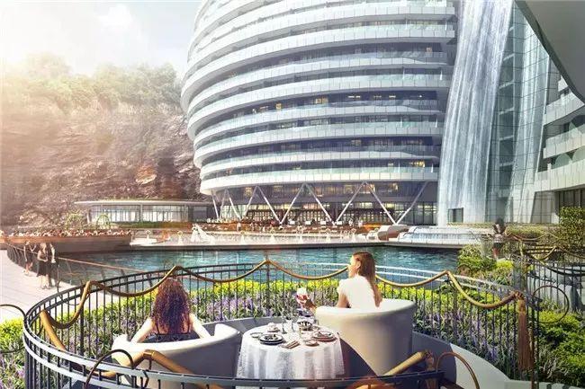 投入20亿的工程奇迹深坑酒店终于开业了,内部设计大曝光!_34