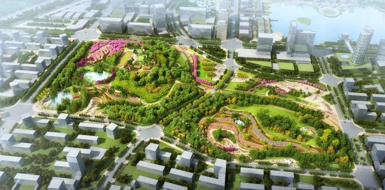 [安徽]含山县山体高差森林公园修建性详细规划设计A-5效果图